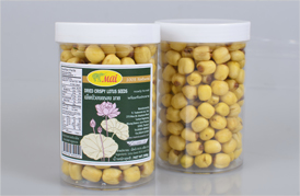 DRIED CRISPY LOTUS SEEDS /200g  -[DRIED LOTUS SEEDS]